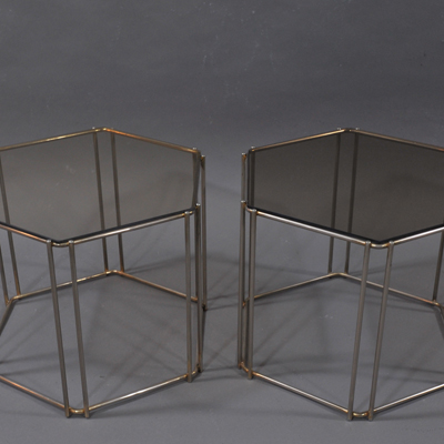 vignette Small Max Sauze glass table