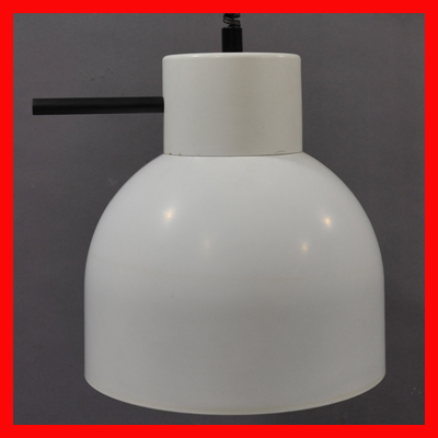 vignette Sixties white hanging lamp