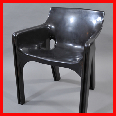 vignette Gaudi armchair by Vico Magistretti for Artemide