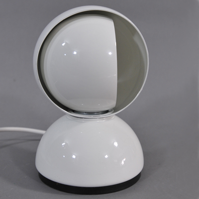 vignette Eclipse orange Artemide Vico Magistretti