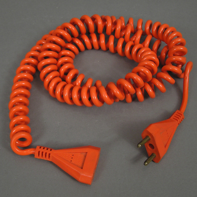 vignette Vintage color extension cord