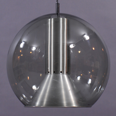 vignette Globe hanging lamp for Raak by Frank Ligtelijn
