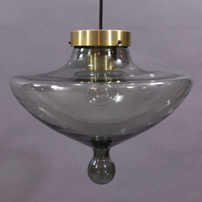 vignette vintage glass Raak hanging lamp