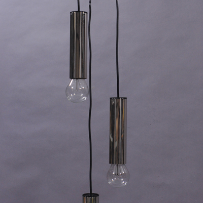 vignette Seventies metal hanging lamp
