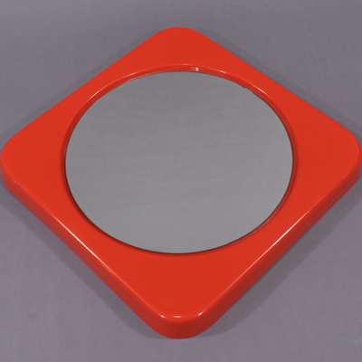vignette vintage orange mirror