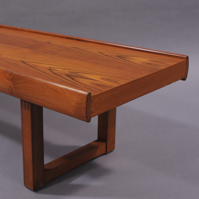 vignette Danish teak coffee table