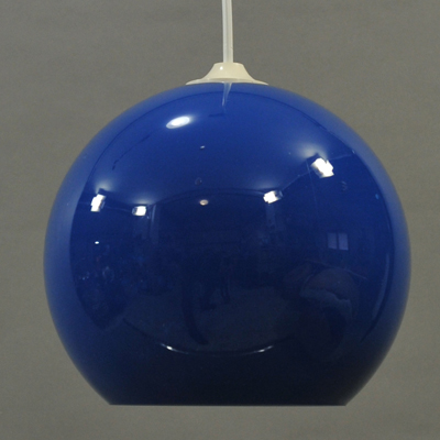 vignette Vintage color glass hanging lamp