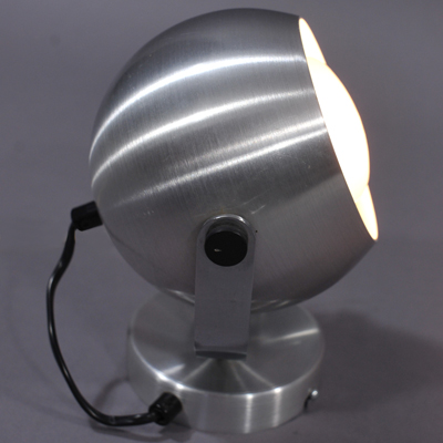 vignette Aluminium ball wall lamp from the seventies