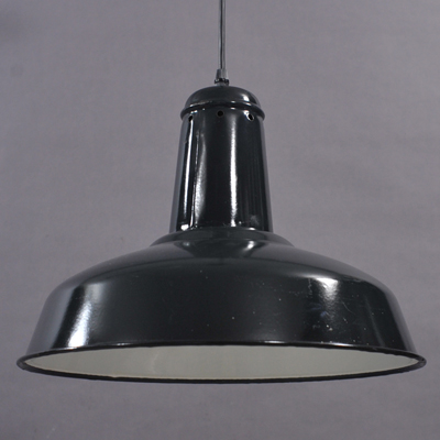 vignette Industrial black pendant lamp