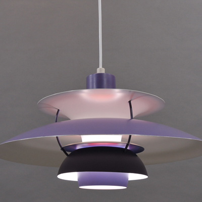 vignette Vintage purple PH5 hanging lamp