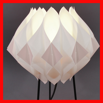 vignette Danish table lamp Butterfly