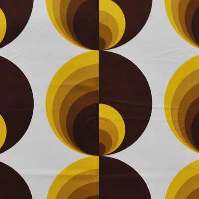vignette Eames style fabric