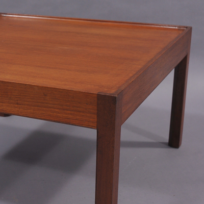 vignette Vintage teak coffee table