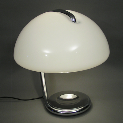 vignette serpente table lamp for martinelli luce by Elio martinelli