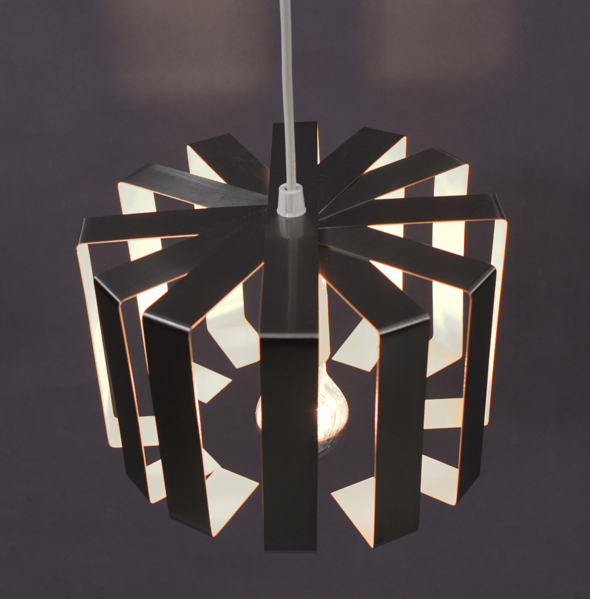small seventies hanging lamp