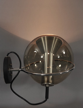 vintage ball wall lamp
