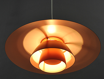 lustre PH3 orange vintage