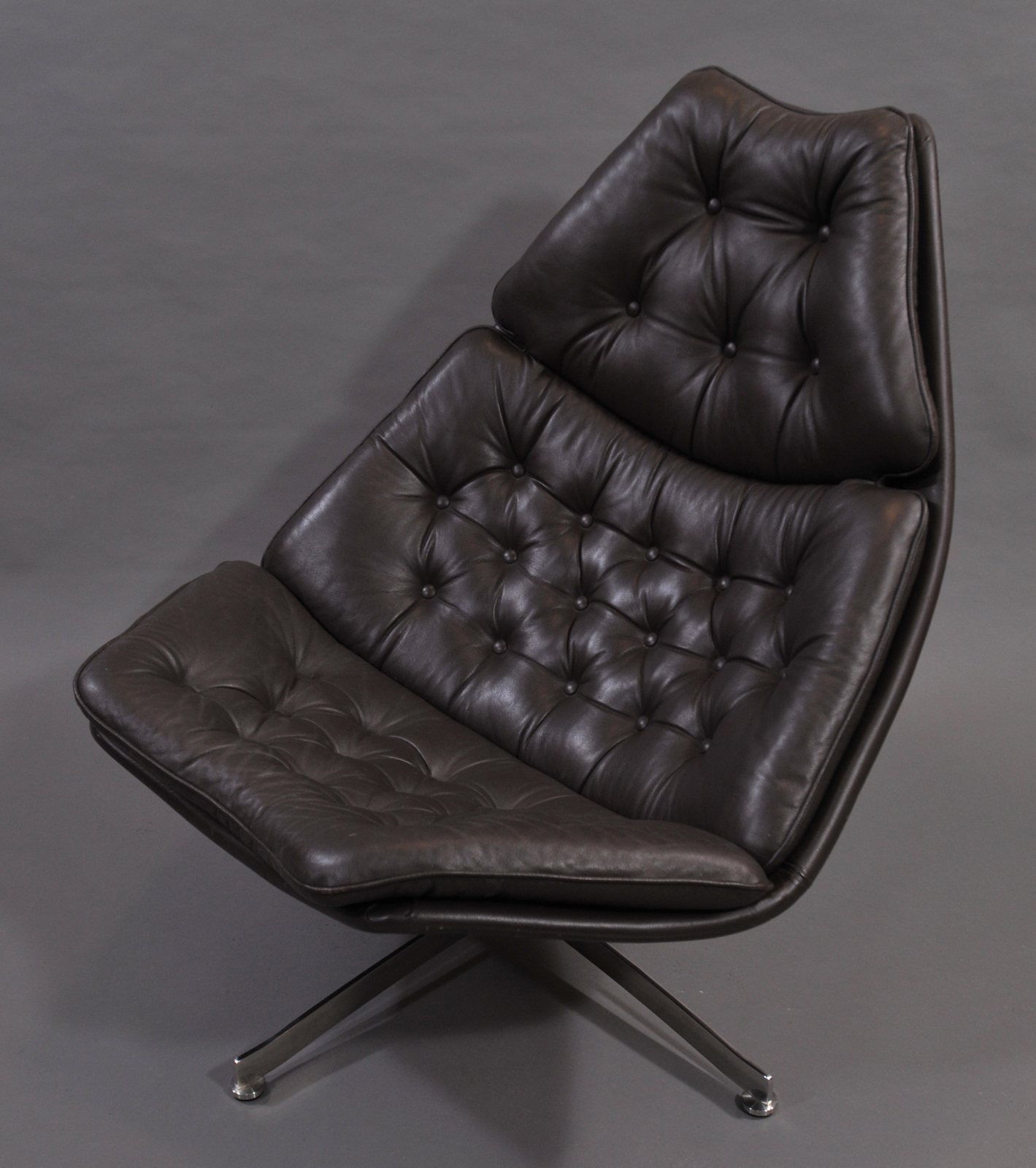 fauteuil Group Aluminium armchair Herman Miller Charles Eames