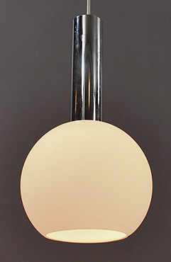vintage glass ball hanging lamp