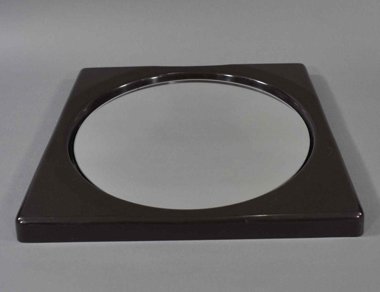 Consider, vintage plexiglass mirror