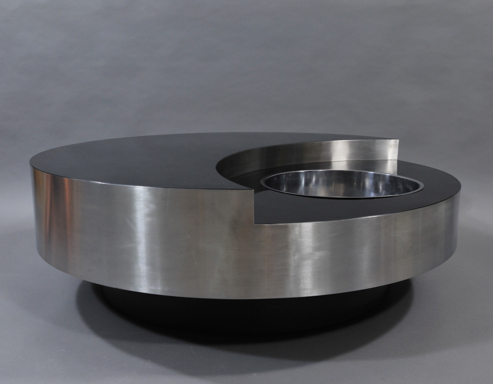 Willy Rizzo Coffee Table.Willy Rizzo Trg Round Coffee Table Modulolab