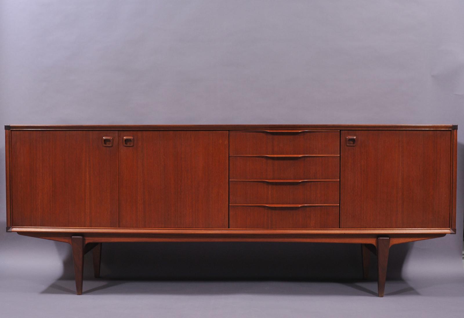 emejing enfilade scandinave teck photos. Black Bedroom Furniture Sets. Home Design Ideas