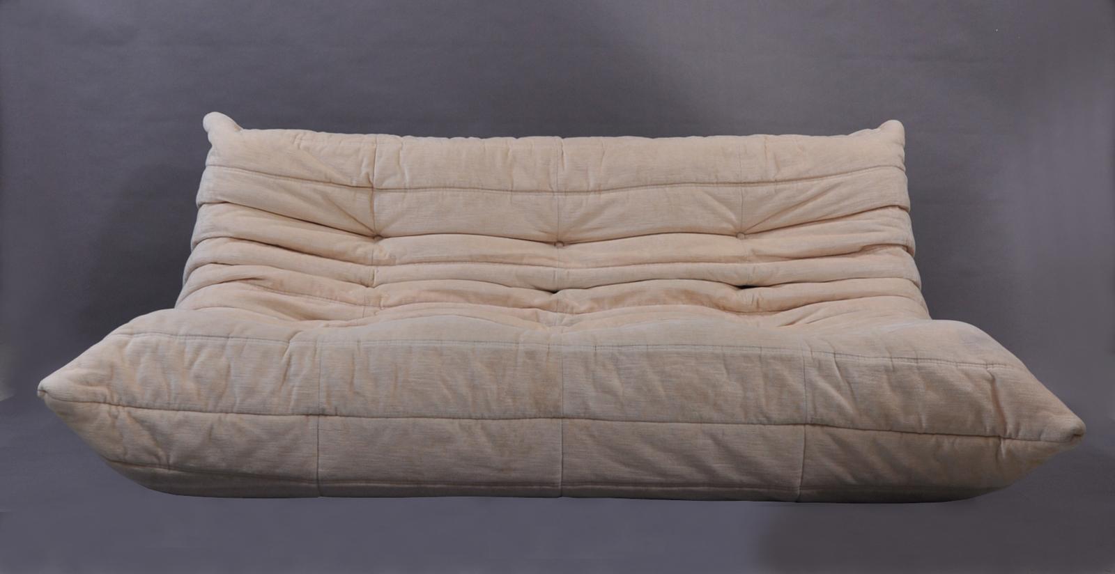 canap togo velours vintage modulolab. Black Bedroom Furniture Sets. Home Design Ideas