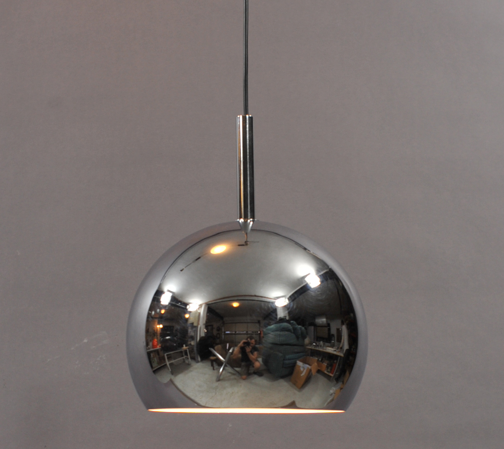 inox hanging lamp